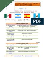 Congreso Internacional de Criminologia 2013