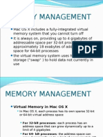MEMORY MANAGEMENT mac os x