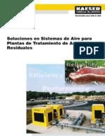 Soluciones Aire y Soplado PTAR WWTP Esp