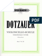 DOTZAUER VIOLONCELLO TUTOR