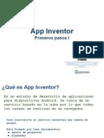 App Inventor - Primeros Pasos I