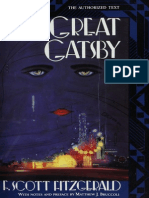 The Great Gatsby--Publisher's Afterword