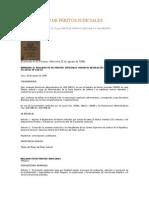 Reglamento de Peritos Judicialesk