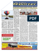 The Village Reporter - June 25th, 2014
