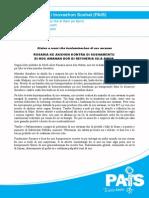 Nota Di Prensa 2014 Polushon Di Awa Isla