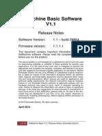 SoMachine Basic - Release Note