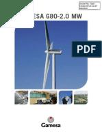 DFLD-JZ-27-Gamesa G80 Wind Turbine Brochure