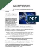 La Perspectiva de La Ingeniería Mecánica en El Área de La Productividad