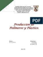 PRODUCCI+ôN DE POL+ìMEROS Y PL+üSTICOS