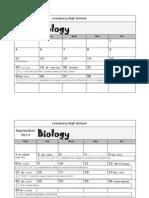 biology calendar2014-2015