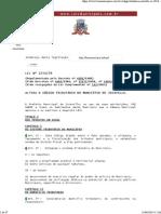 Código Tributário Joinville Vigente