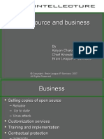 Open Source and Business