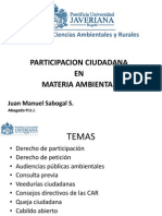 Participacion Ciudadana en Materia Ambiental
