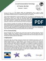 Gr 6 ICT Overview Semester1