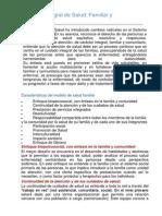 Modelo Integral de Salud