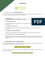 Declaración IVA