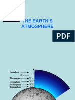 Lecture 8 Earth's Atmosphere