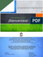 Presentación de Comportamiento Organizacional