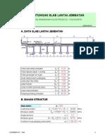 Perhitungan Jembatan Girder Bms Code