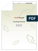 Oracle Payroll Module