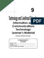 TLE-ICT-Computer Hardware Servicing Grade 9