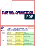 tube mill Optimisation