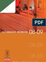 Pg Prospectus