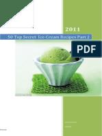 50 Top Secret Ice-Cream Recipes Part 2