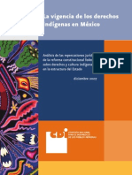 Vigencia Derechos Indigenas Diciembre 2007