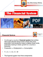 FEL109R Lecture 2 - Financial System