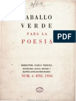 Caballo Verde Para La Poesía. 1-1936, n.º 4