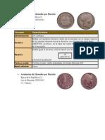 Acuñación de Monedas Por Periodo