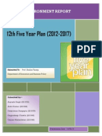 12th Plan Report FMG22A Group1 Pioneers