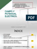 Clase 4.2 Campo Electrico[1]