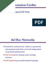 Adhoc Networks
