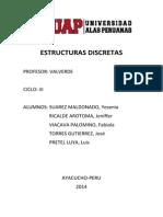 Codificacion en Java de Estructuras Discretas