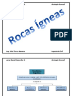 Álbum Rocas Ígneas