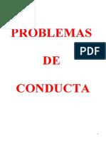 Problemas de Conducta