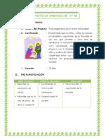 Proyecto de Aprendizaje Nº 03 Haydee