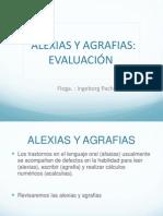 Alexias y Agrafias (Evaluación)