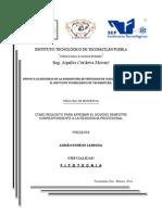 Memoria de Residencia PDF