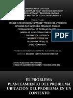 PRESENTACION SUSTENTACIO MAESTRIA