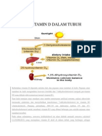 Sintesis Vitamin d Dalam Tubuh