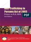 9208 Primer 2nd Ed Anti-Trafficking in Persons Act of 2003 Commission on Filipinos Overseas 2nd Edition