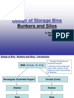 Design of Bunkers and Silos