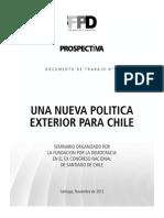 Una Nueva Política Exterior Para Chile1