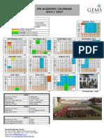 jps calendar 2014-2015