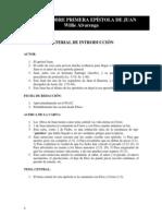 Comentario de La Primera Epc3adstola de Juan