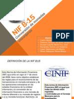 NIF B-15