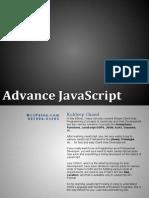 AdvanceJS in Hindi